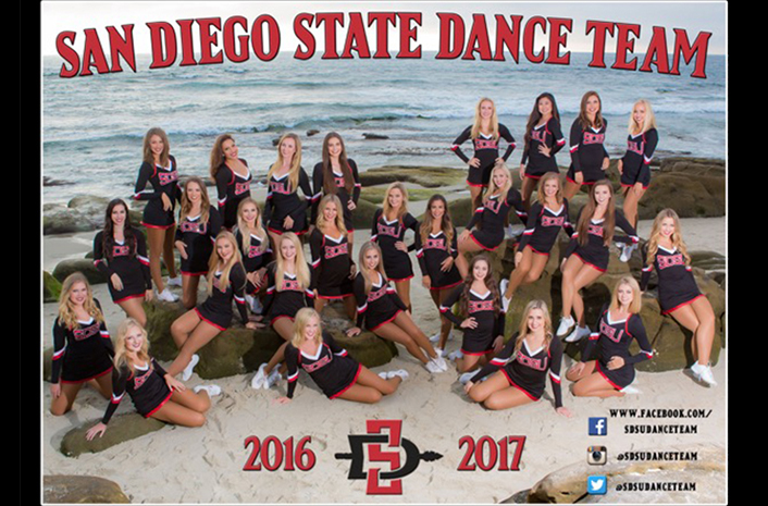 dance team calendar