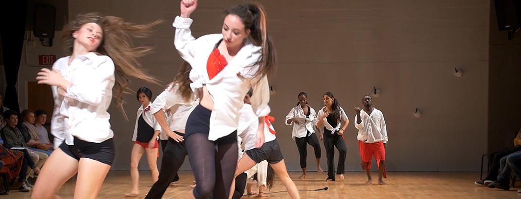 Brystan Maddie dance performance