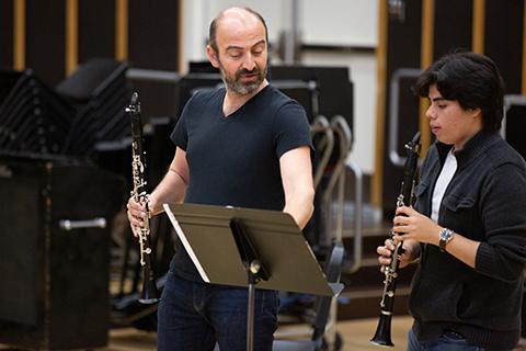 clarinet masterclass