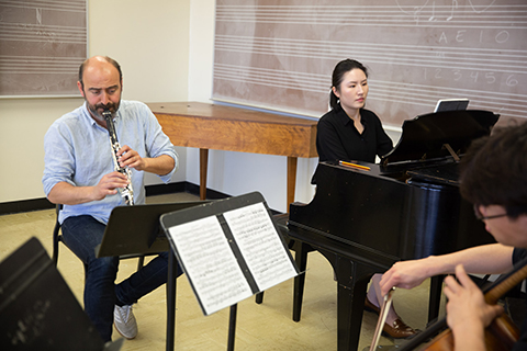 clarinet and piano duet