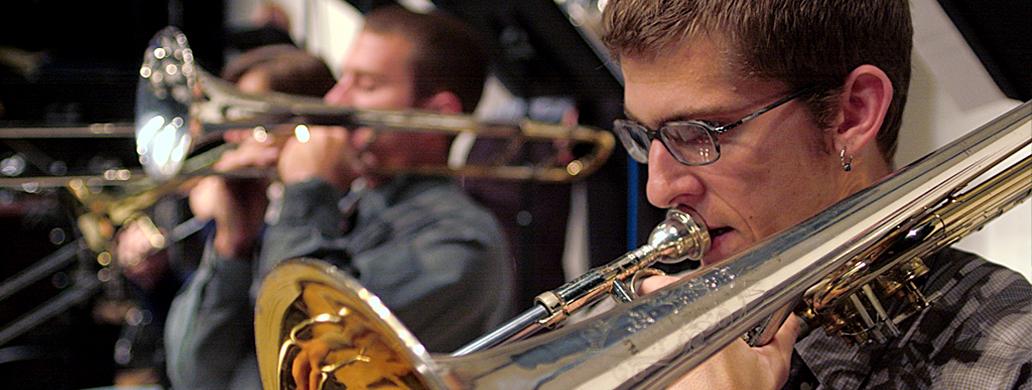 Jazz Studies Student