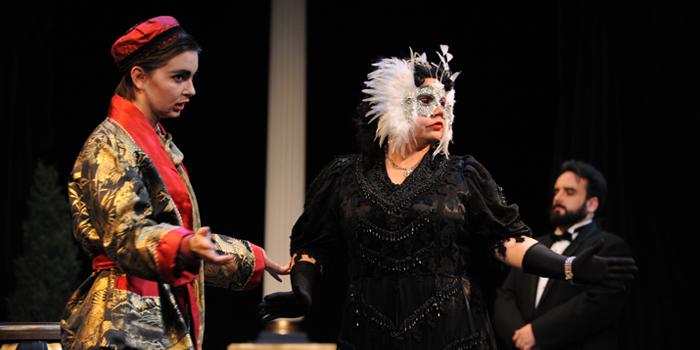 Opera students